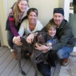 Hansel with new family