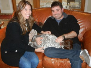 Sprig with his new family