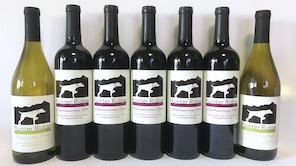 Pointer Ridge wine bottles