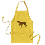 photo of logo dog apron