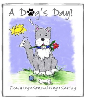 a dog's day logo