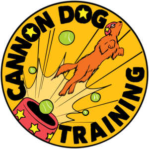 cannon dog training logo