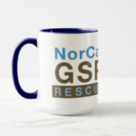 Photo of logo mug with rectangular logo