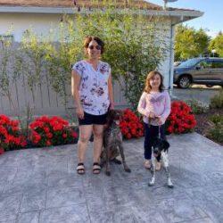 Shila with family